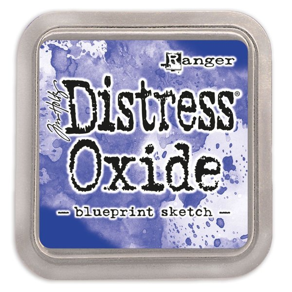 Ranger - Tim Holtz - Distress Oxide BLUEPRINT SKETCH
