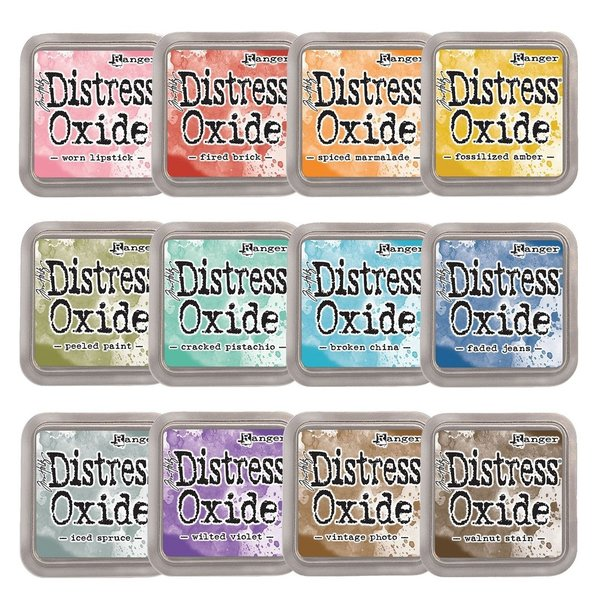 Ranger - Tim Holtz - Distress Oxide - Kollektion 1