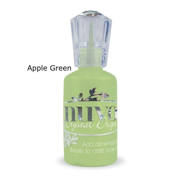 Tonic Studios - Nuvo Crystal Drops APPLE GREEN