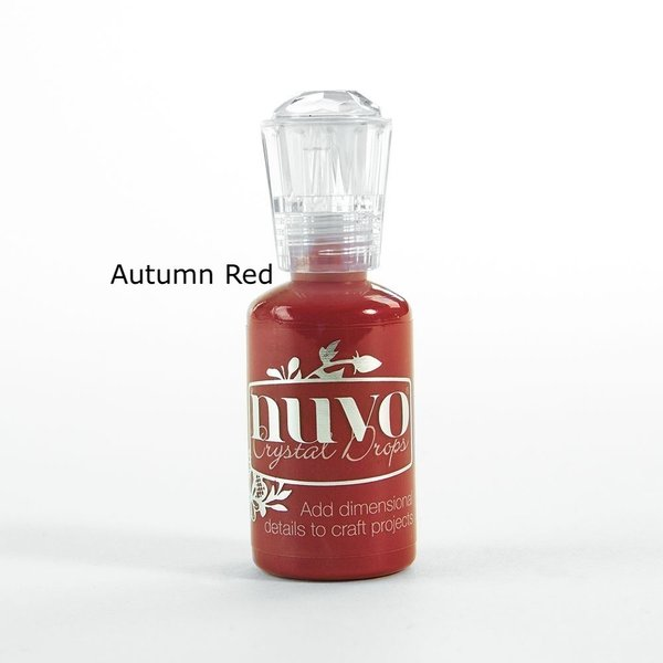 Tonic Studios - Nuvo Crystal Drops AUTUMN RED