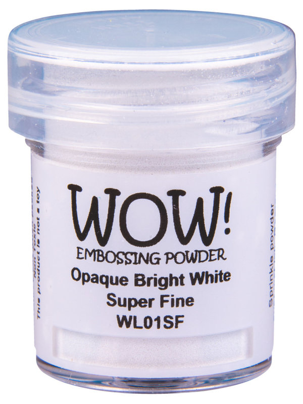 "WOW! Embossing Powder ""Bright White"""