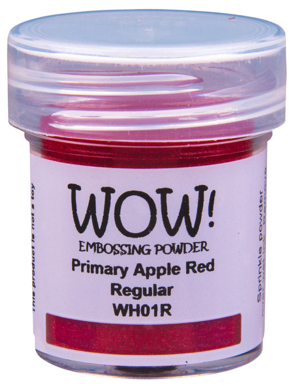 "WOW! - Embossing Powder ""Grundfarben"" (Primary, Regular, 15 ml)"