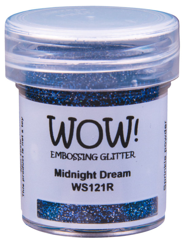 "WOW! - Embossing ""Glitter"" Deckend & Marmorierend (OM)"