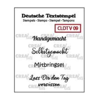 "Crealies - Clear Stamps ""Handgemacht"""