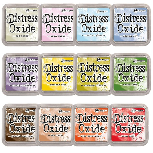 Ranger - Tim Holtz - Distress Oxide - Kollektion 4