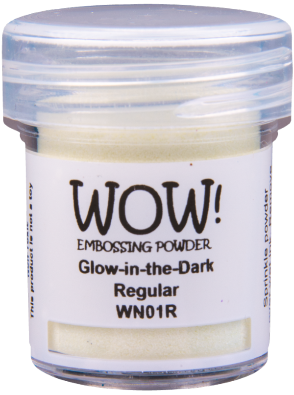 "WOW! - Embossing Powder ""Glow-In-The-Dark"""